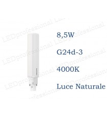 Lampadina LED Philips PLC 8,5w luce naturale 4000k 2P G24d-3
