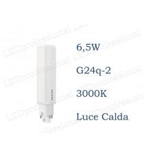 Lampadina LED Philips PLC 6,5w luce calda 3000k 4P G24q-2