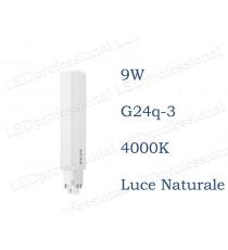 Lampadina LED Philips PLC 9w luce naturale 4000k 4P G24q-3