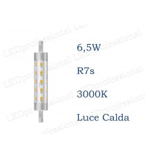 Lampadina LED Philips R7s 6,5w luce calda 3000k 118mm