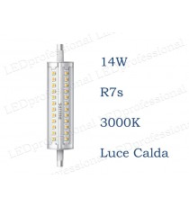 Lampadina LED Philips R7s 14w luce calda 3000k 118mm
