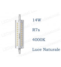 Lampadina LED Philips R7s 14w luce naturale 4000k 118mm