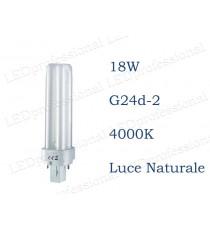 Osram Dulux D 18w luce naturale G24d-2 840 4000k