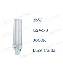 Osram Dulux D 26w luce calda G24d-3 830 3000k
