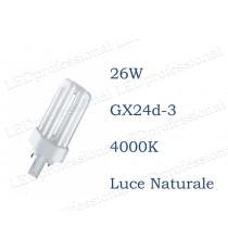 Osram Dulux T 26w luce naturale GX24d-3 840 4000k