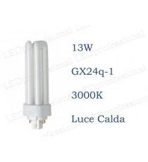 Osram Dulux T/E 13w luce calda GX24q-1