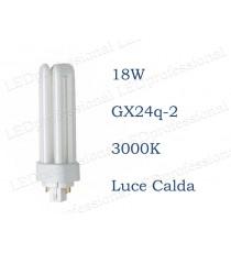Osram Dulux T/E 18w luce calda GX24q-2