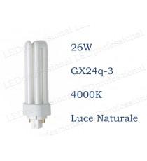 Osram Dulux T/E 26w luce naturale GX24q-3