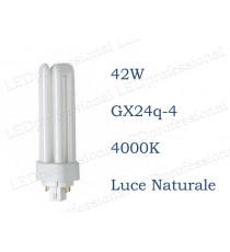 Osram Dulux T/E 42w luce naturale GX24q-4