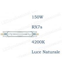 Lampada Philips CDM-TD 150w 4000k luce bianca naturale  RX7s