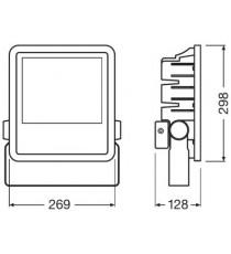 Osram Faro LED 135W luce fredda 6500K da esterno IP65