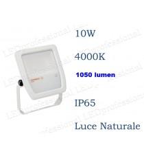 Osram Faro LED 10W luce naturale 4000K da esterno IP65