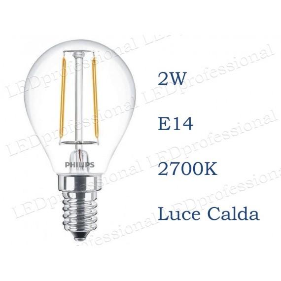 Philips Classic LEDLuster E14 2W